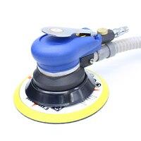 6 Inches Self vacuum Pneumatic Sander 150MM Air Sanding Machine Air Random Oribit Sander Pneumatic Grinder Tool|pneumatic sander|sander pneumatic|pneumatic grinder -
