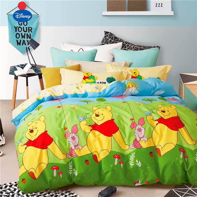 Green Yellow Winnie the Pooh Disney Comforter Bedding Sets ...