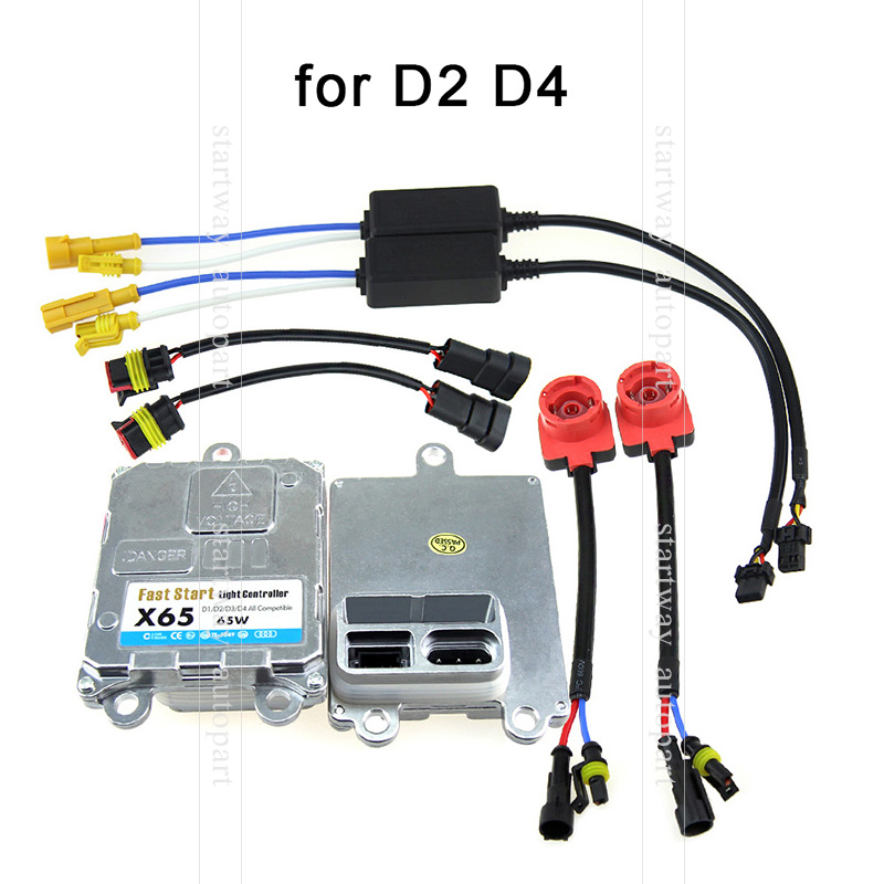 ФОТО 1 Piece Super Fast Bright 65W Hid Xenon D2 D2S D2R D2C D4 D4S D4R D4C Ballast replacements for original Xenon D2 D4 bulbs