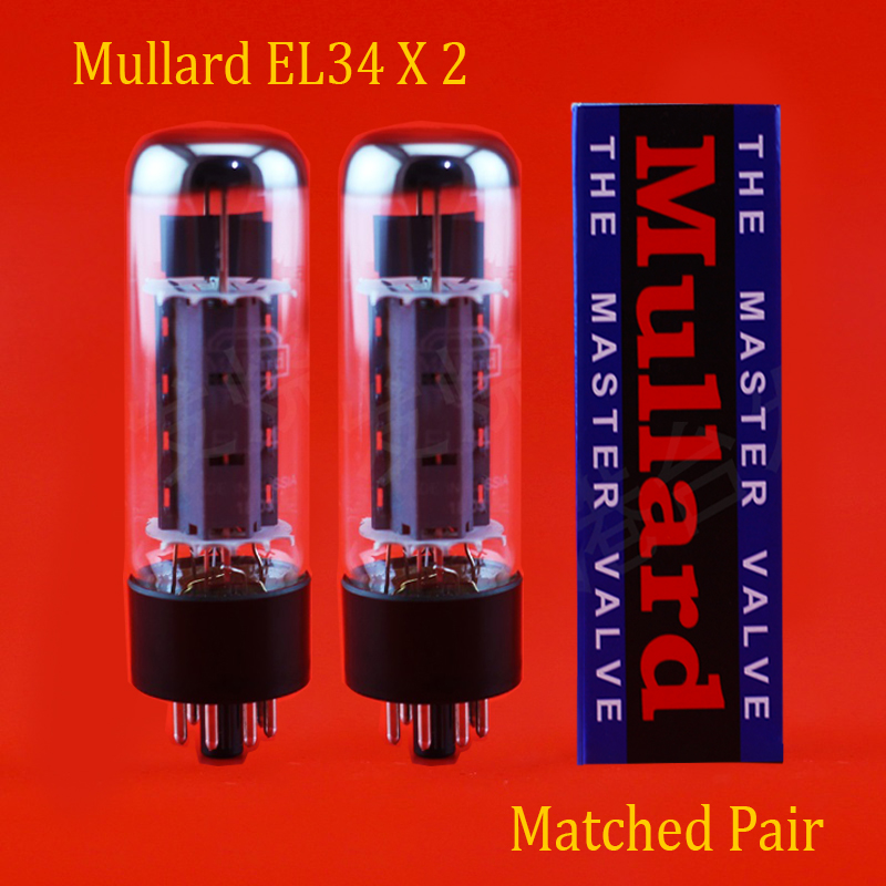 NEW 2 pcs= 1 Matched pair Shuguang Treasure 6CA7-Z Vacuum Tubes RE EL34
