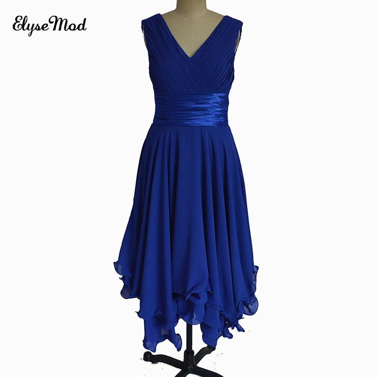 Elegant Formal Dresses For Women V Neck 2017 A Line Pleath