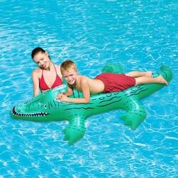 Крокодил ездить на надувной бассейн плавать для мальчиков и девочек летние водонепроницаемые сиденье безопасности детей игрушки пляжный