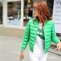 Новый женский вниз куртка Бейсбольной равномерное женщин теплое пальто Дамы тонкий пальто манто femme женские зимние куртки и пальто 6120