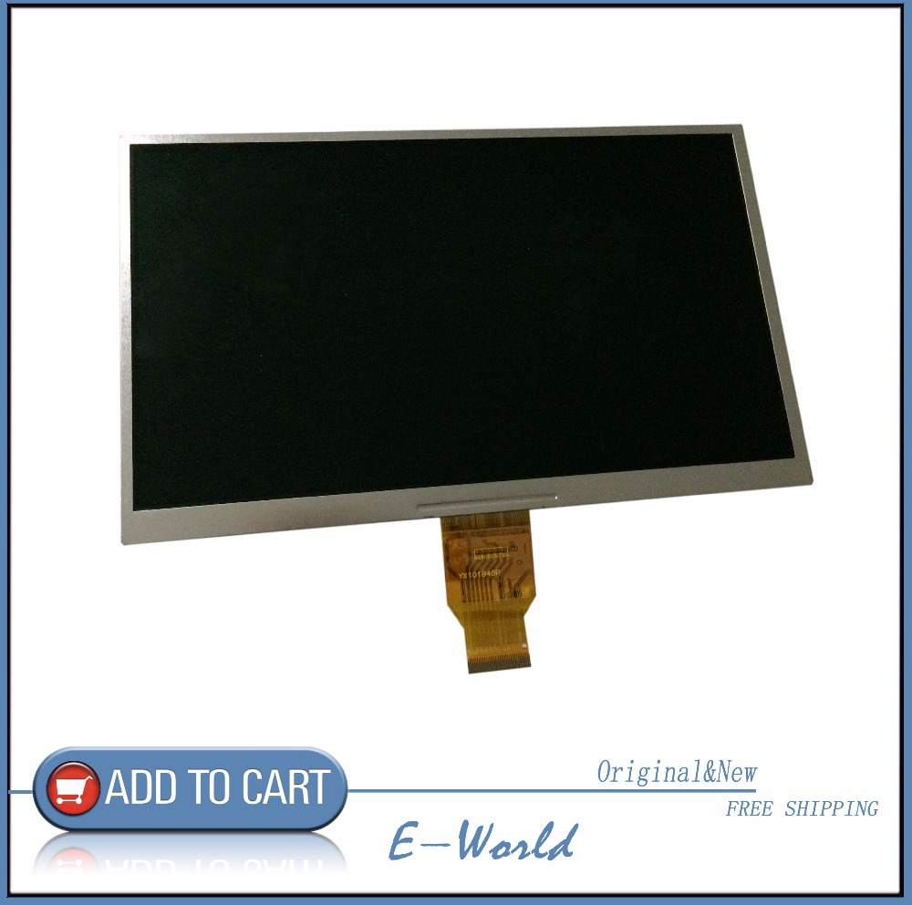 Original and New LCD screen YX100101L24J YX100101L24 YX100101 for tablet pc free shipping fr0045 1