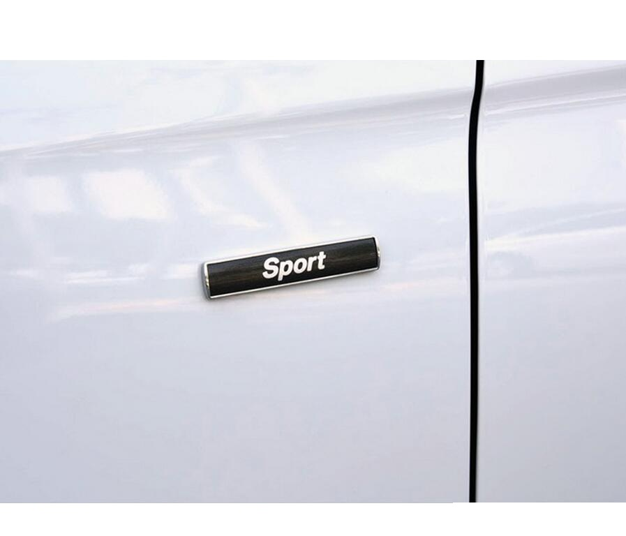 quot Sport quot Letters Word Car Trunk Badge Emblem Letter Decal Sticker for BMW Sport in Emblems from Automobiles amp Motorcycles