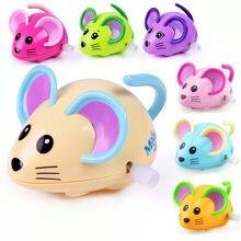 Детские игрушки цепочки 2 шт мультяшная мышь животное заводные