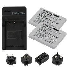 RP EN-EL8, ENEL8 EL8 Camera Battery + Charger for Nikon Coolpix P1, P2 , S1, S2 S3 S5 S50, S50c, S51, S51c, S52.