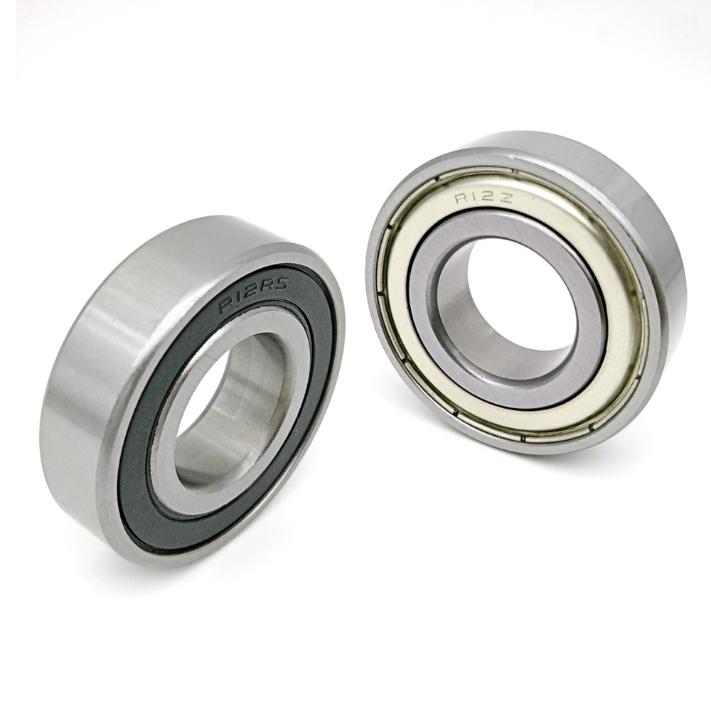 "R12-2RS rubber seals bearing R12-rs ball bearing 3//4/""x1-5//8/""x7//16/"""