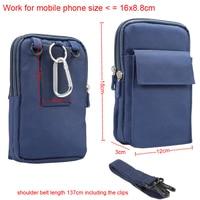 Sports Dual Pouch Mobile Phone Belt Clip Shoulder Case For iPhone 8/8 Plus,ASUS Zenfone 2/2 laser/2 Deluxe/2E,Zenfone ZOOM