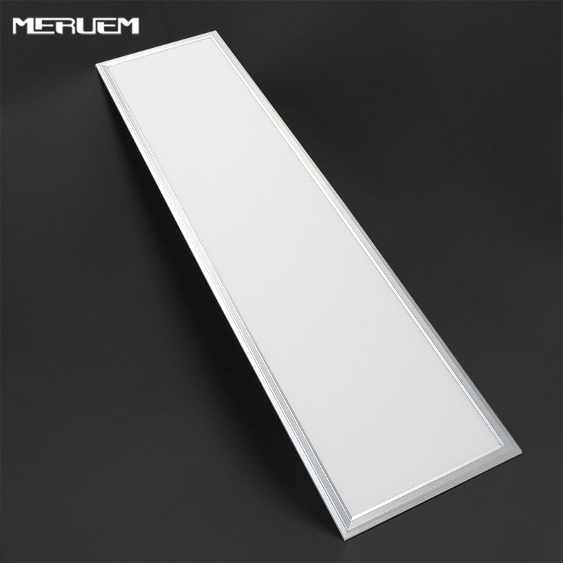 ФОТО Suspended 48W  Dimmable  SMD led panel light, 300x120mm,  with 2880lm Replace 120W Incandlescent Tube,3Years warrantly