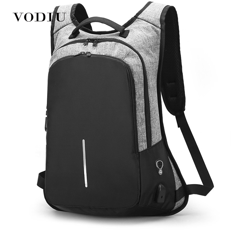 Laptop Backpack Usb Charging Men Anti Theft Backpack Fashion School Bag Unisex School Rucksack Sac A Dos Male Smart Mochila