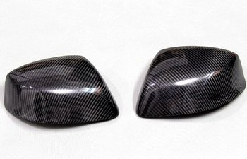 Carbon Fiber Overlay Mirror Covers for 2012-2015 Honda Civic 9th Generation without Led Light