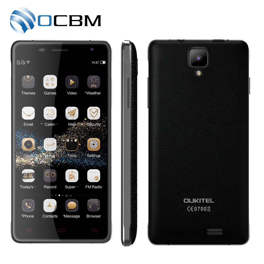 "bilder für Original Oukitel K4000 Pro MTK6735P Quad Core 1,0 GHz Android 5.1 5,0 ""HD 2 GB RAM 16 GB ROM 5.0MP 4600 mAh 4G LTE Handy"