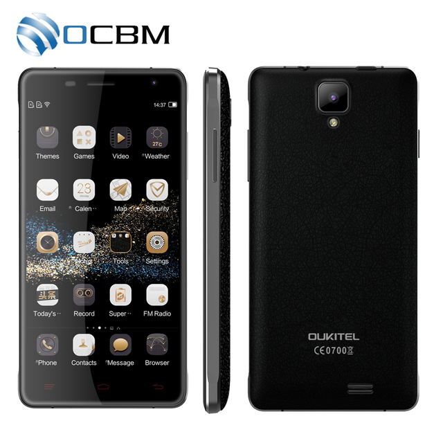 "Original Oukitel K4000 Pro MTK6735P Quad Core 1.0GHz Android 5.1 5.0"" HD 2GB RAM 16GB ROM 5.0MP 4600mAh 4G LTE Mobile Phone"