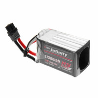 AHTECH For Infinity 22.2V 1150mAh 120C 240C 6S Lipo Battery Rechargeabel W/ XT60H F for RC Models Multicopter Spare Part Accs
