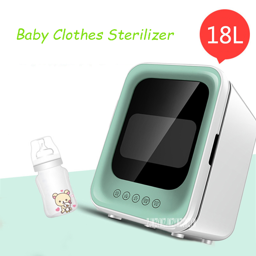 JGJ-992 Double UV Lamp Sterilizer Cabinet Baby Clothes Sterilizer Mini Toy Disinfection Cabinet With Drying Multi-Functional