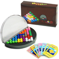 Interesting Magic IQ Pyramid Beads Puzzle Logic Mind Educational Game Toy New STA