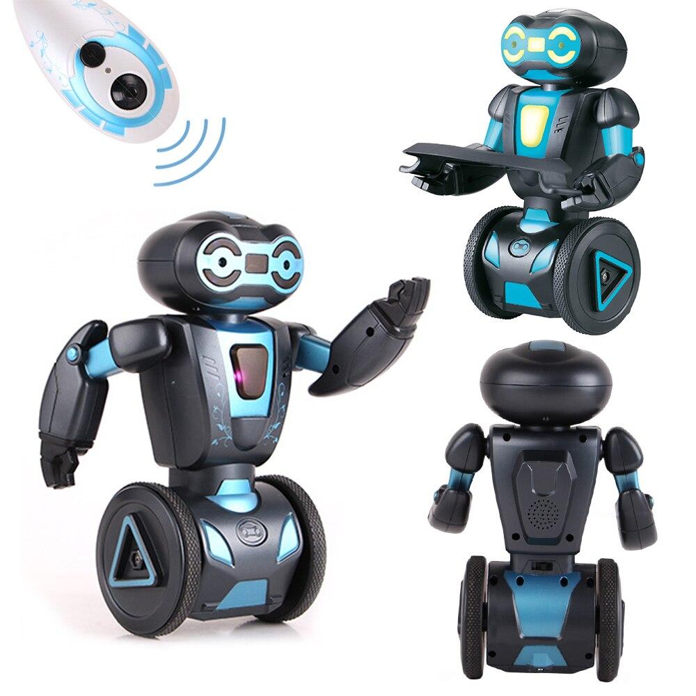 Commande vocale Rc Robot Jouets Pour Enfants 5 D'exploitation Modes Télécommande Intelligente Humanoide Robotique Présent Jouets Électroniques