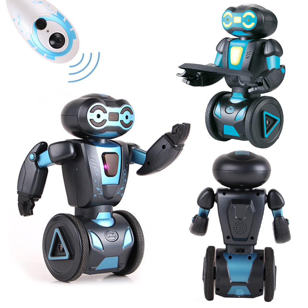 Voice Control Rc Robot Toys For Children 5 Operating Modes Remote Control Intelligent Humanoide Robotics Present Electronic Toys