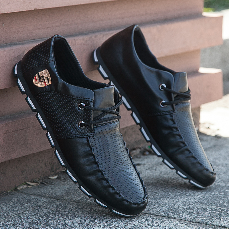 2017 New Brand Fashion Summer Soft Moccasins Men Loafers High Quality Genuine Leather Shoes Men Flats Gommino Driving Shoe1
