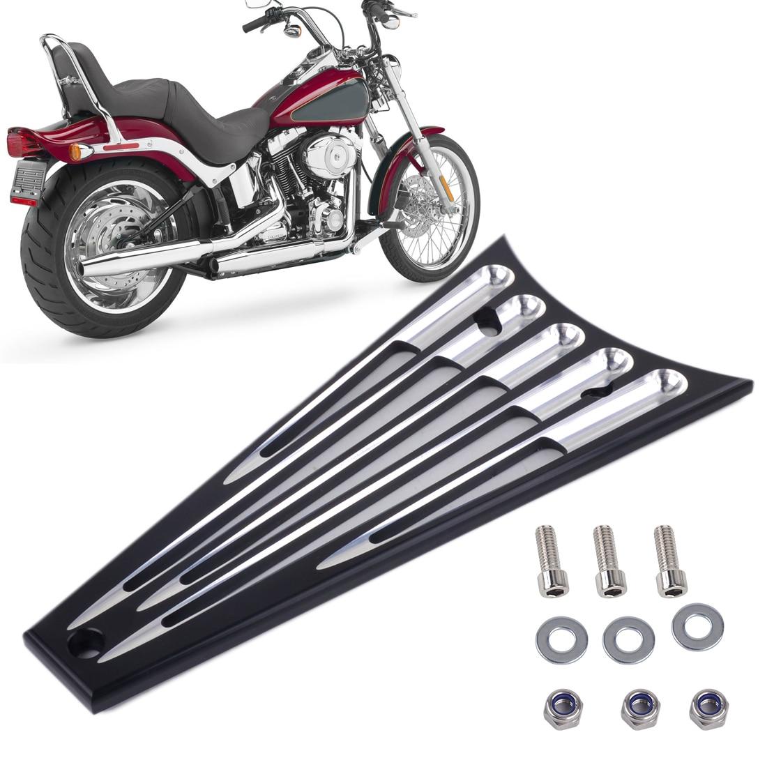 DWCX 6 Columns Billet Deep Cut Frame Grill Fit For Harley Electra Glide Road King Road