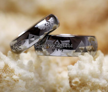 YGK Free Shipping YGK JEWELRY Hot Sales 4mm 6mm 8mm Men's Comfort Fit Legend of Zelda Tungsten Ring Wedding Band
