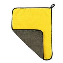 Сверхмягкое полотенце из микрофибры для мытья автомобиля 30*60 см, ткань для Сушки автомобиля, ткань для ухода за автомобилем, детальное полотенце для мытья автомобиля, не царапается