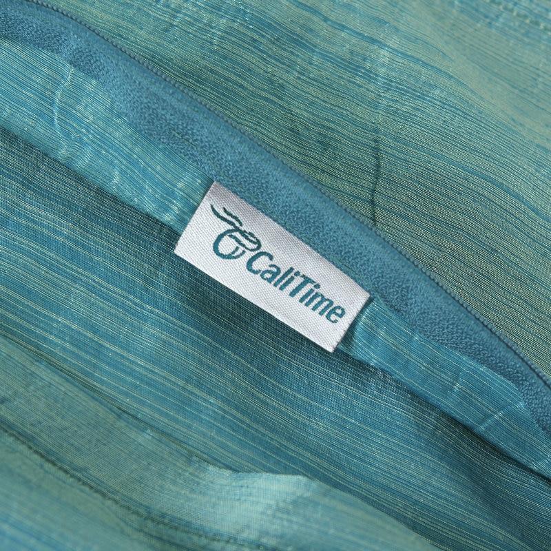 2PCS CaliTime spilvenu pārvalki, spilveni, apvalks, mākslīgais, - Mājas tekstils - Foto 6