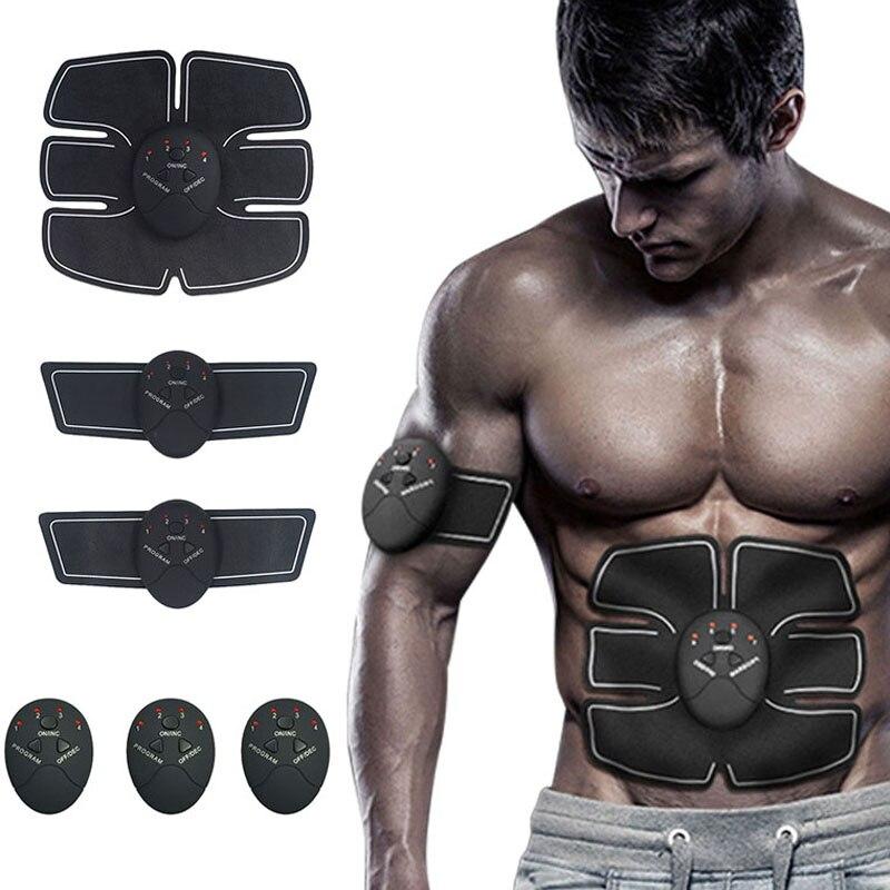 Smart SME Trattamento Impulso Elettrico Massaggiatore Stimolatore Muscolare Addominale Ginnico Dispositivo di Perdita Di Peso Che Dimagrisce Formazione Massaggiatore