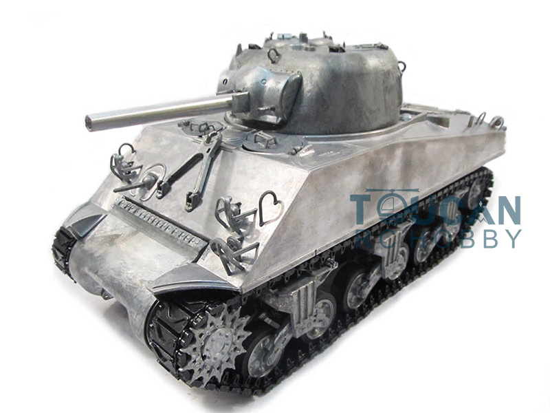 100% Metal Mato 1/16 M4A3 Sherman RTR RC Tank Infrared Version Metal Color 1230 mato sherman tracks 1 16 1 16 t74 metal tracks