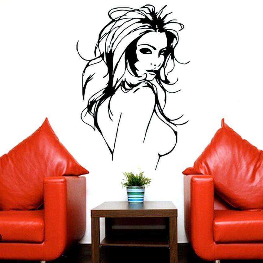 Wonderful Hot Sale 2016 Wall Stickers Sexy Girl Wall Mural Vinyl Decal Wall Salon  Women Window Sticker XT In Wall Stickers From Home U0026 Garden On  Aliexpress.com ... Part 31