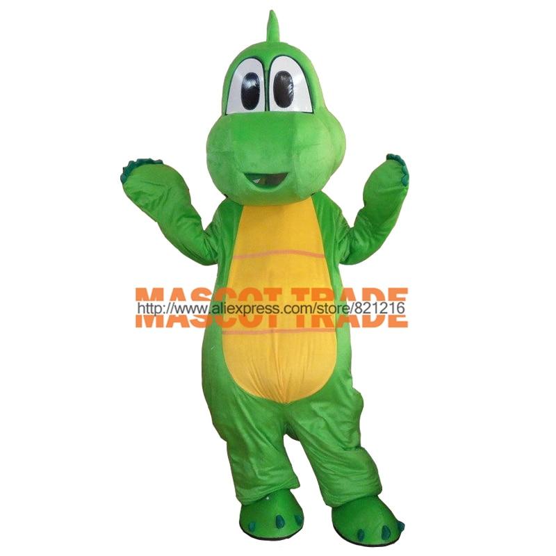 cosplay costume Professional Yoshi Dinosaur Super Mario Mascot Costume Free Shipping