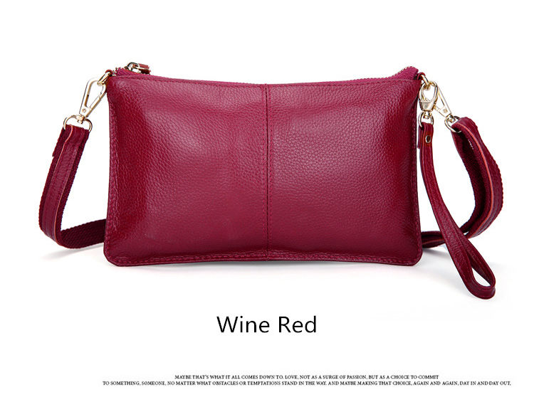 RanHuang Women Genuine Leather Day Clutches