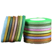 (25 yards/lot) 6mm colorful polyester ribbon Christmas packaging high-grade quality squares