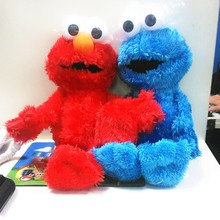 Free Shipping 36cm Sesame Street Elmo Plush Toys Soft Stuffed Doll Collection Figures Kids Dolls Birthday Gifts