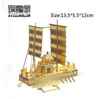 3D Metall Puzzles Modell Für Erwachsene Kinder Jigsaw Alte Segelboot Pädagogisches Spielzeug/juguetes Sammlung Geburtstag Weihnachten Geschenk