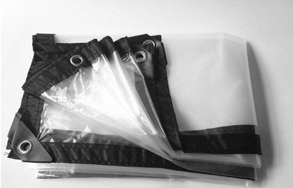 Thin 1mX1m 60% Transparent Outdoor Cover, Waterproof Tarp, Transluce Rain Tarpaulin.greenhouse Cloth.