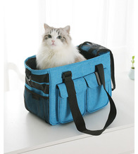 Dog Bags Sturdy Nylon Portable  Pet Carrier Travel Double Shoulder Backpacks Sport Riding Hiking Outdoor Bag