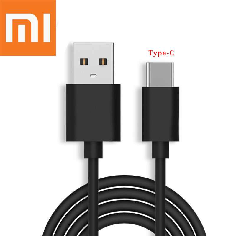 Original XIAOMI USB Cable 120CM Fast Charger Micro USB/Type C Data Line For Mi 5 6 6X 8 SE Redmi Note 4 4A 4X 5 Plus 5A 6 6A Pro