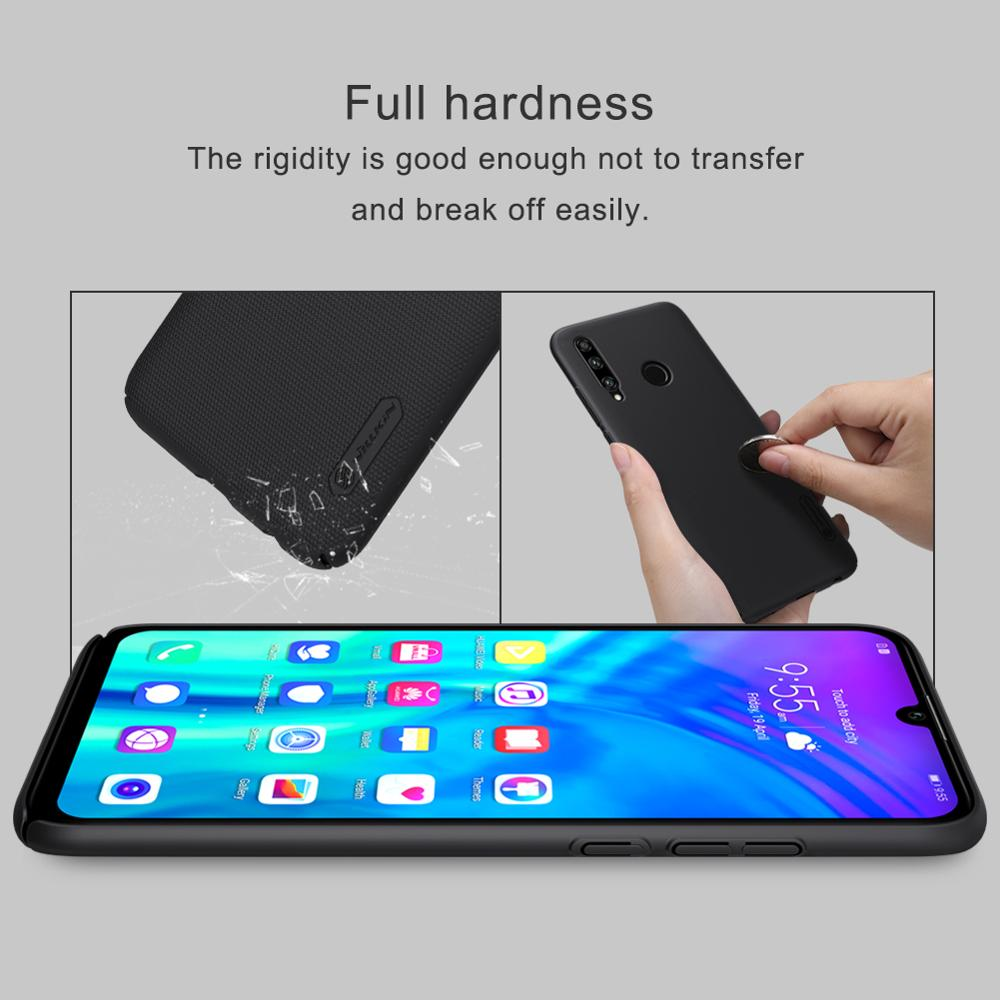 10pcs/lot wholesale Nillkin Super Frosted Shield Case For Huawei Honor 10i PC Hard Back Cover Case For Huawei Honor 20i case-in Fitted Cases from Cellphones & Telecommunications    3