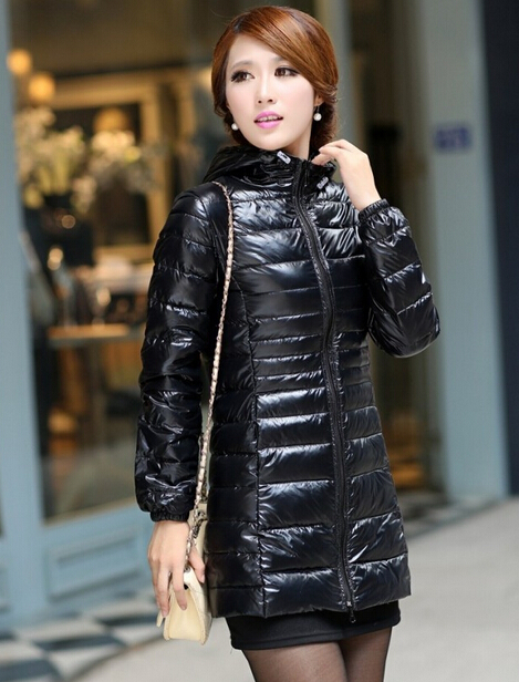 Aliexpress.com : Buy Womens Ultra Light Winter Down Jacket Medium ...
