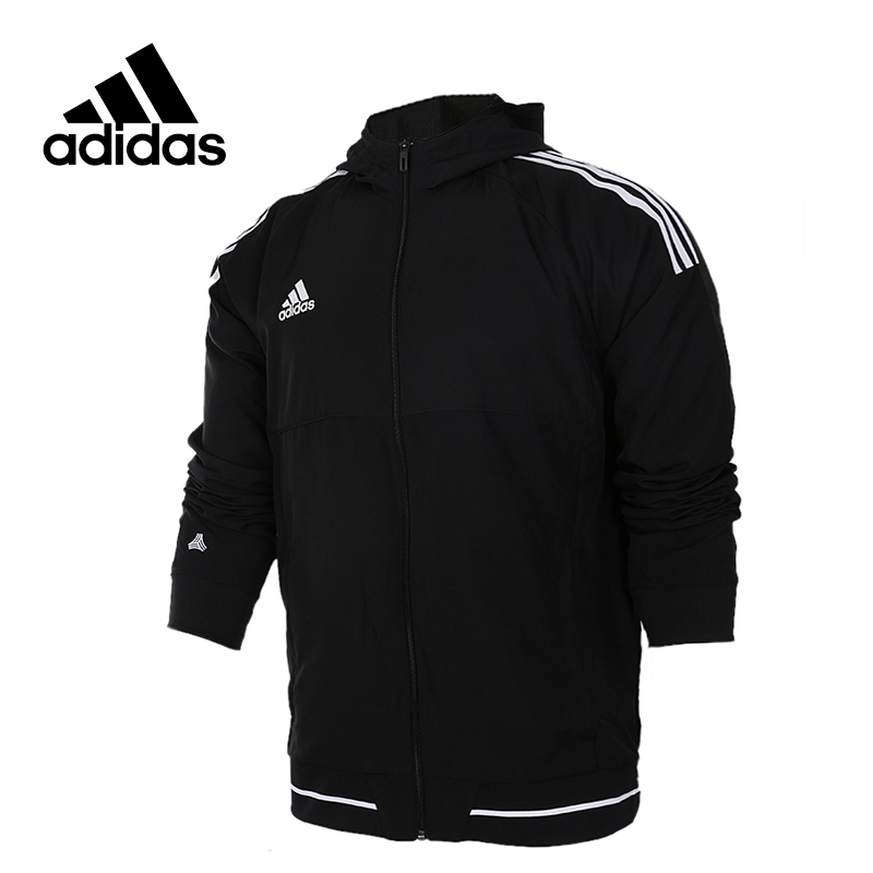 Original New Arrival Official Adidas Men's Tatting Jacket Hooded Sportswear adidas original new arrival official women s tight elastic waist full length pants sportswear bj8360