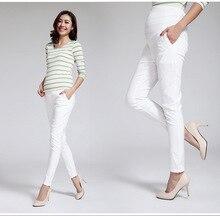 Femmes longues pantalon pour les femmes enceintes Leggings printemps été mince Style Cool coton confortable Abdomen conception