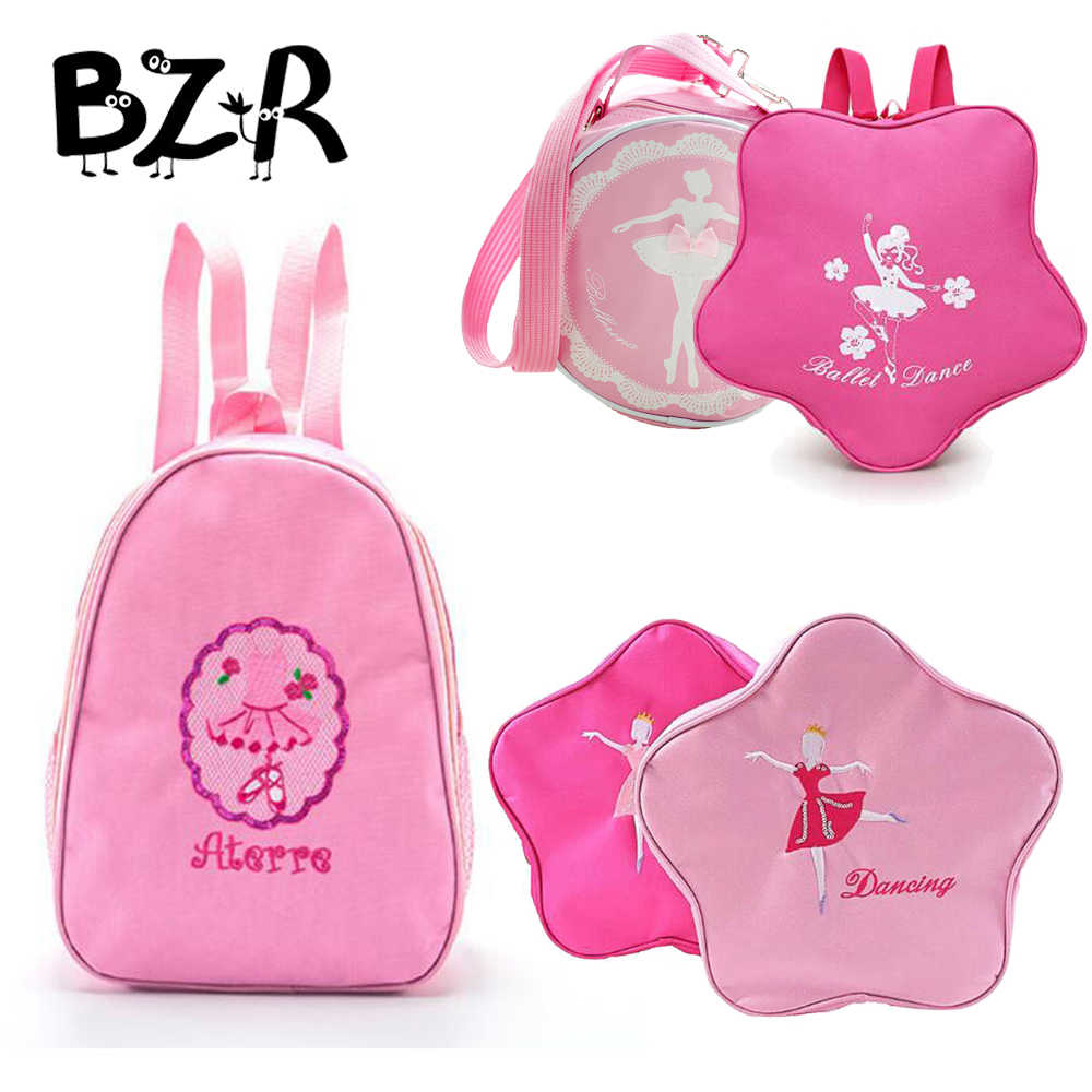 9 Models Irregular Ballet Bags For Girls Printed Child Backpack For Dance Ballerina Kids Bags Ballet Bag Princess Dance Bags