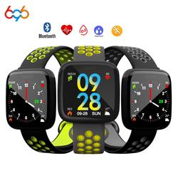 696 F15 фитнес-трекер кровяное давление часы Шагомер Bluetooth Смарт-браслет монитор сердечного ритма спортивный браслет