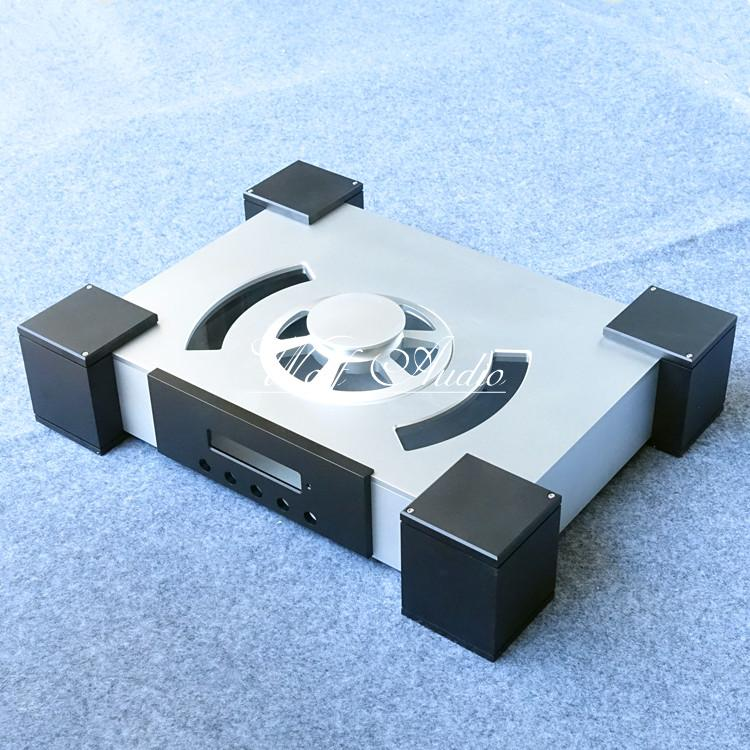 Full Aluminum Gland type CD Player Chassis CD turntable Case CD Enclosure DIY cd