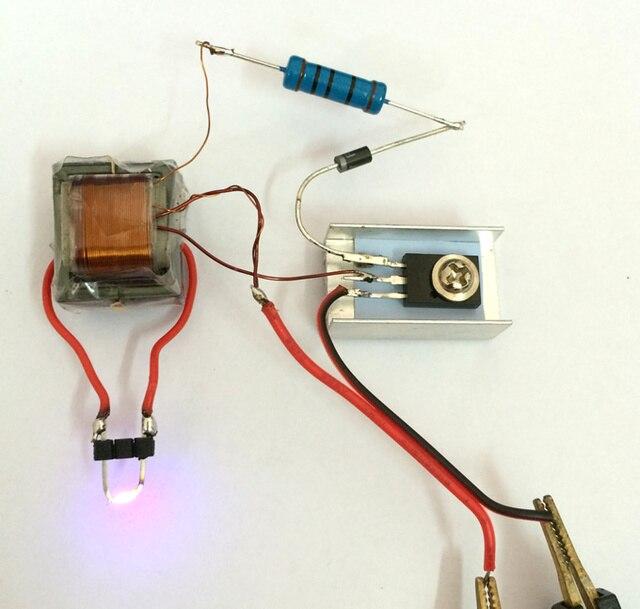 Hohe spannung generator schritt up inverter arc zündspule modul von ...