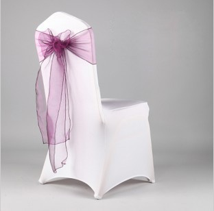 chair covers sage green kids bungee 200pcs lot banquet sash 7 108 orgaza bows for wedding decoration