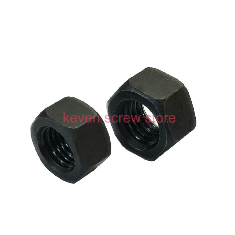 10 mm entre caras M6 Paquete De 100 6mm Tuerca y perno plastic//nylon Tapa Gris