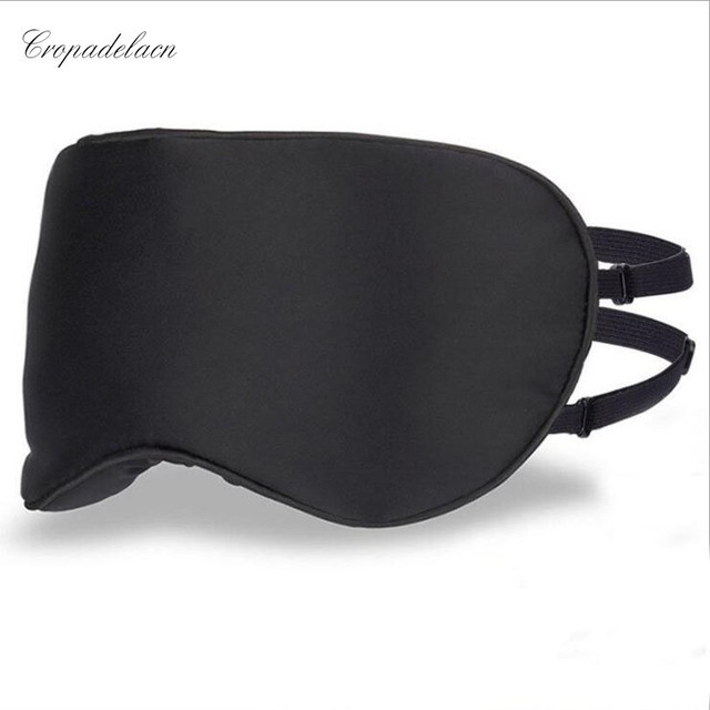 64139e20773 Upscale 100% Silk Portable Travel Sleep Eye Mask Rest Aid Soft Cover Eye  Patch Hot